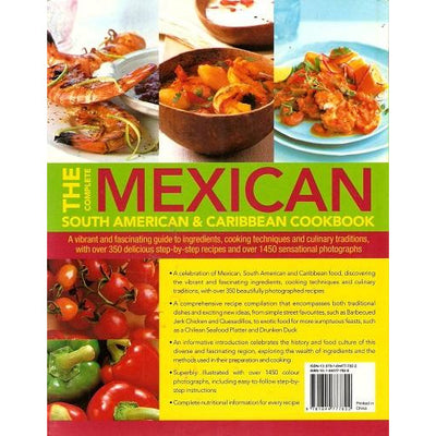 Book - second hand. The Complete Mexican, South American and Caribbean Cookbook