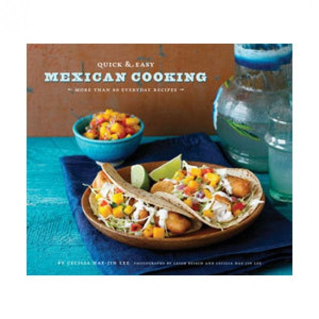 Book - second hand. Quick and Easy Mexican