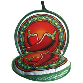 Tortilla Warmer - Chile Pepper Medallion