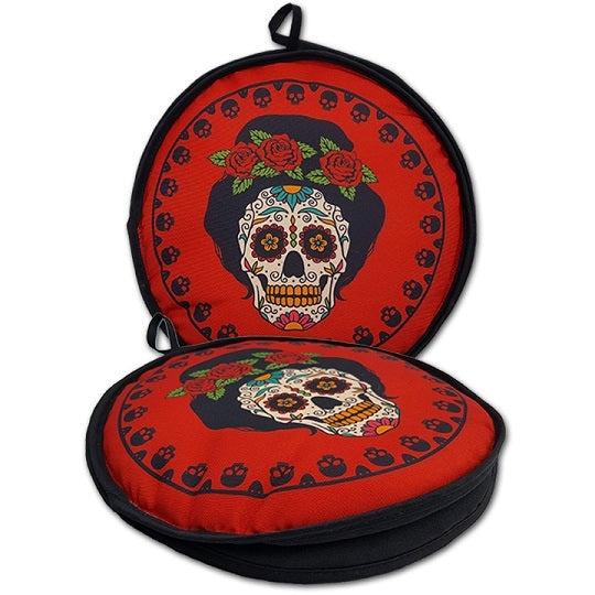Tortilla Warmer - Day of the Dead Senora