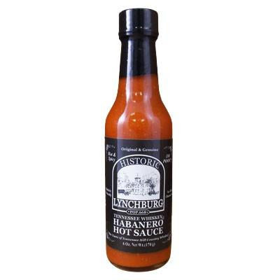 Tennessee Whiskey Habanero Sauce