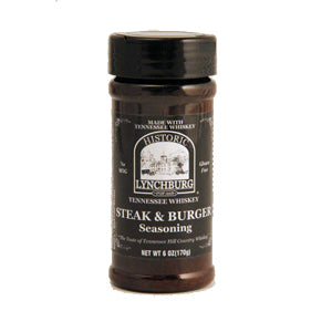Tennessee Whiskey Steak and Burger Seasoning