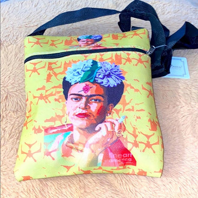 Frida Kahlo Cross-body Side Purse