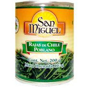 San Miguel Poblano chile strips