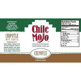 Chile Mojo Hot Sauce Chipotle 5oz