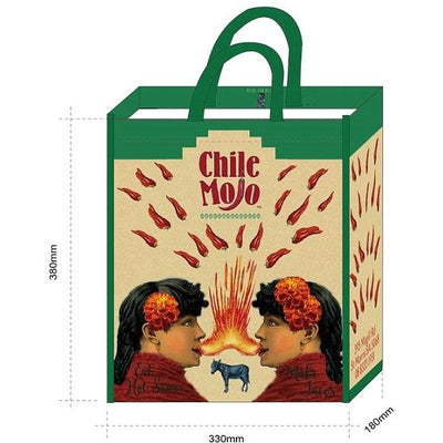 Chile Mojo Recycled Plastic Shopping Bag
