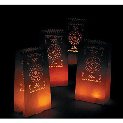 Fiesta Luminary Bags - Pack of 12