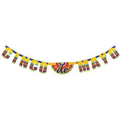 Cinco De Mayo Jointed Party Banner