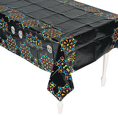 Day of the Dead plastic Tablecover