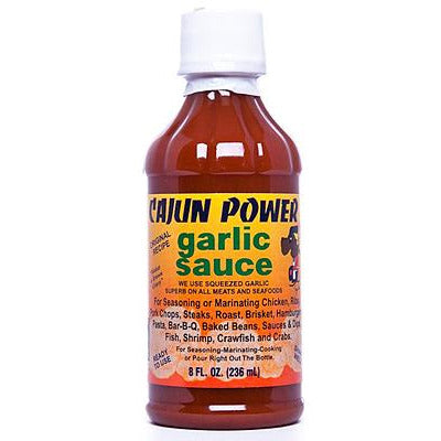 Cajun Power Garlic Sauce 236ml (8oz)