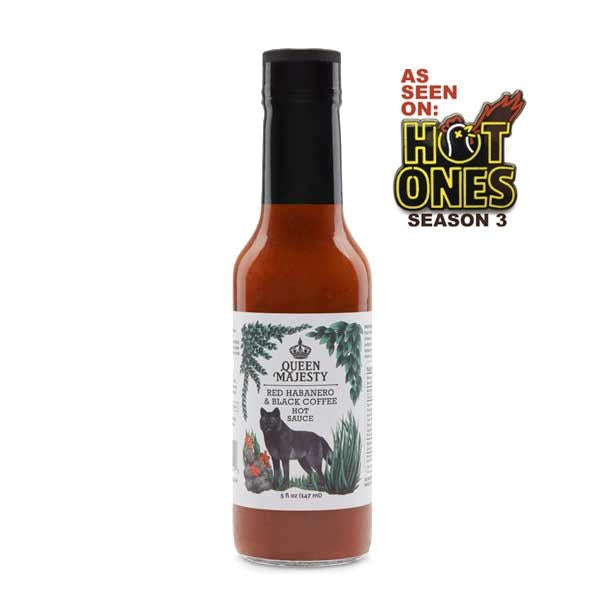 Queen Majesty Red Habanero and Black Coffee Hot Sauce