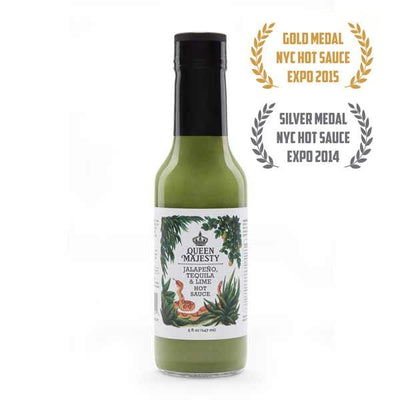 Queen Majesty Jalapeno Tequila Lime Hot Sauce 148ml