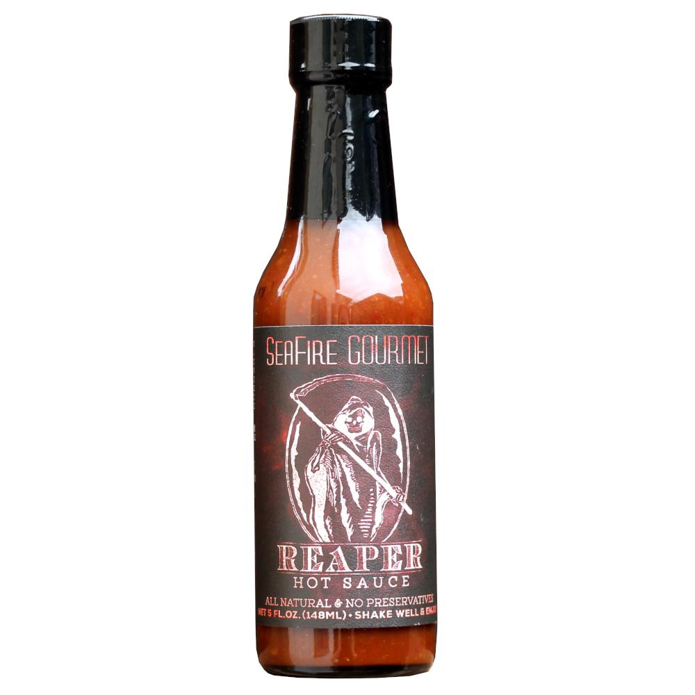 Seafire Gourmet Reaper Hot Sauce 5oz (148ml)