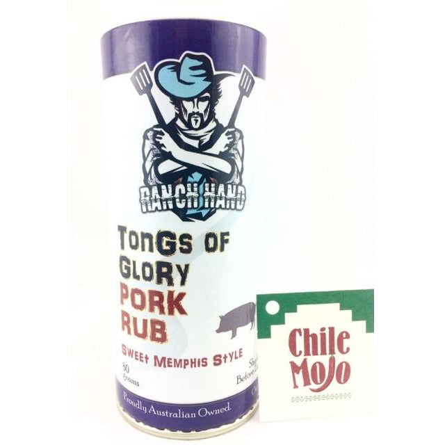 Ranch Hand Tongs of Glory Memphis Style Pork Rub 80gm