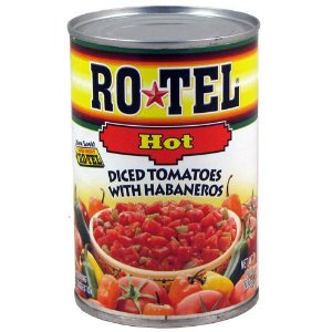 RoTel Diced Tomatos w/Habanero 10oz