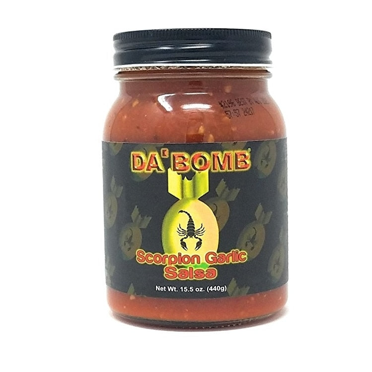 Da Bomb Scorpion Garlic Salsa 440gm (15.5oz)