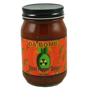Da Bomb Ghost Pepper Salsa 440gm