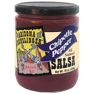 AZ Gunslinger Chipotle Salsa 454gm