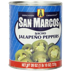 San Marcos Jalapeno nacho sliced canned