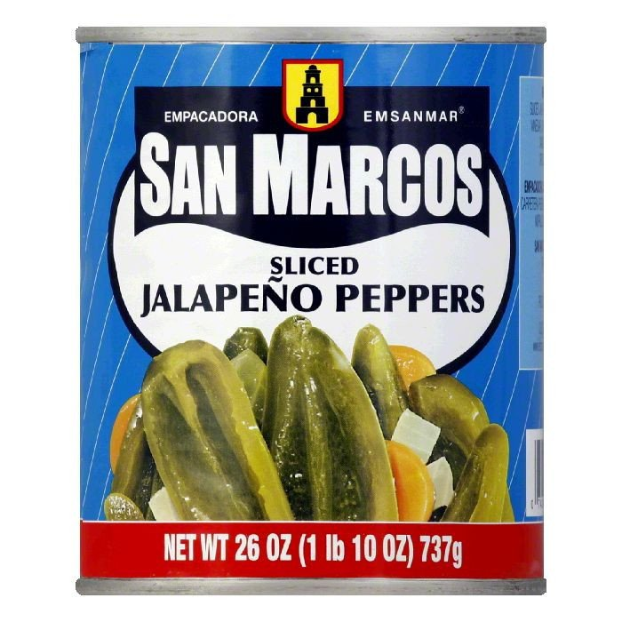 San Marcos Jalapeno long slice canned 737gm (26oz)