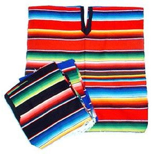 Poncho - Saltillo Striped - Kids