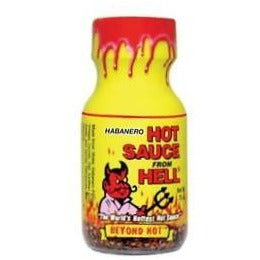 Habanero Hot Sauce From Hell Mini 22ml