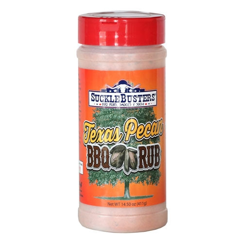 Sucklebusters Texas Pecan BBQ Rub 411gm (14.5oz)