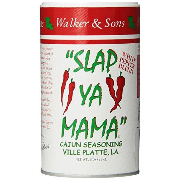 Slap Ya Mama Cajun Seasoning WHITE 227gm (8oz)