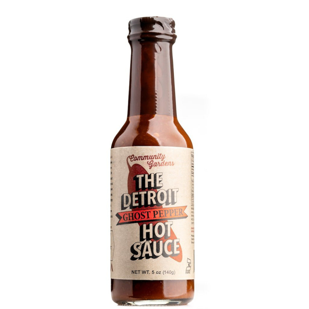 Small Axe Peppers - The Detroit Ghost Pepper Sauce 5oz (148ml)
