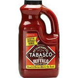 Tabasco Buffalo Style Half Gallon (1.89 litres)