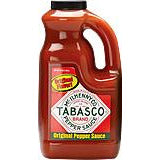 Tabasco Original Red Half Gallon (1.89 litres)
