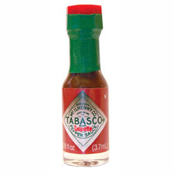Tabasco Chipotle Mini bottle 3.7ml