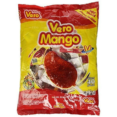 Vero Mango Mexican lollipop