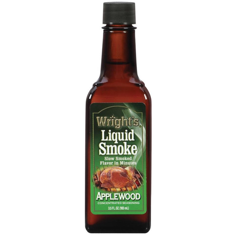liquid smoke Wrights apple