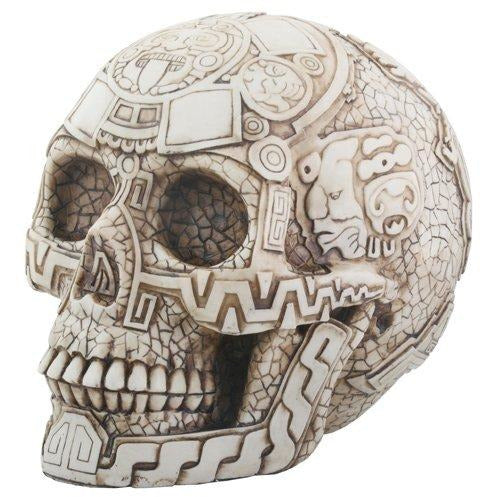 Aztec Skull - cast resin