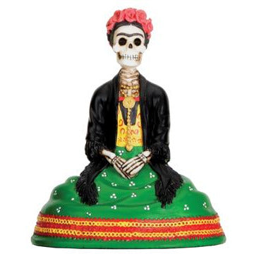 Day of the Dead Frida Kahlo sitting