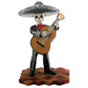Day of the Dead figurine - Mariachi with Bass Guitar