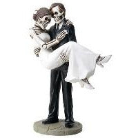 Day of the Dead Groom carrying Bride