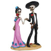 Day of the Dead Couple Holding Hands