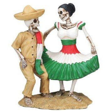 Day of the Dead Dancing Skulls