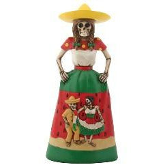 Day of the Dead Sandia dress Senorita