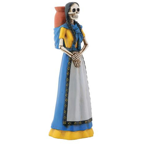 Day of the Dead figurine - Girl with Jarrito