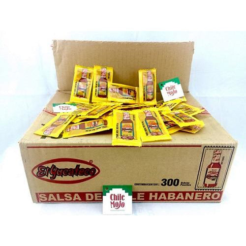 El Yucateco sauce satchels 300ct