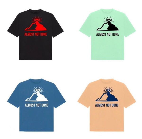 Mountain T-shirts by Almost not done