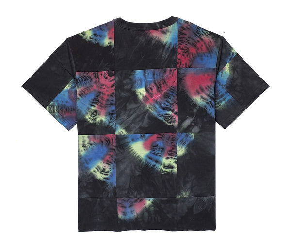 The Psytrance Patchwork Tie Dye T-Shirt