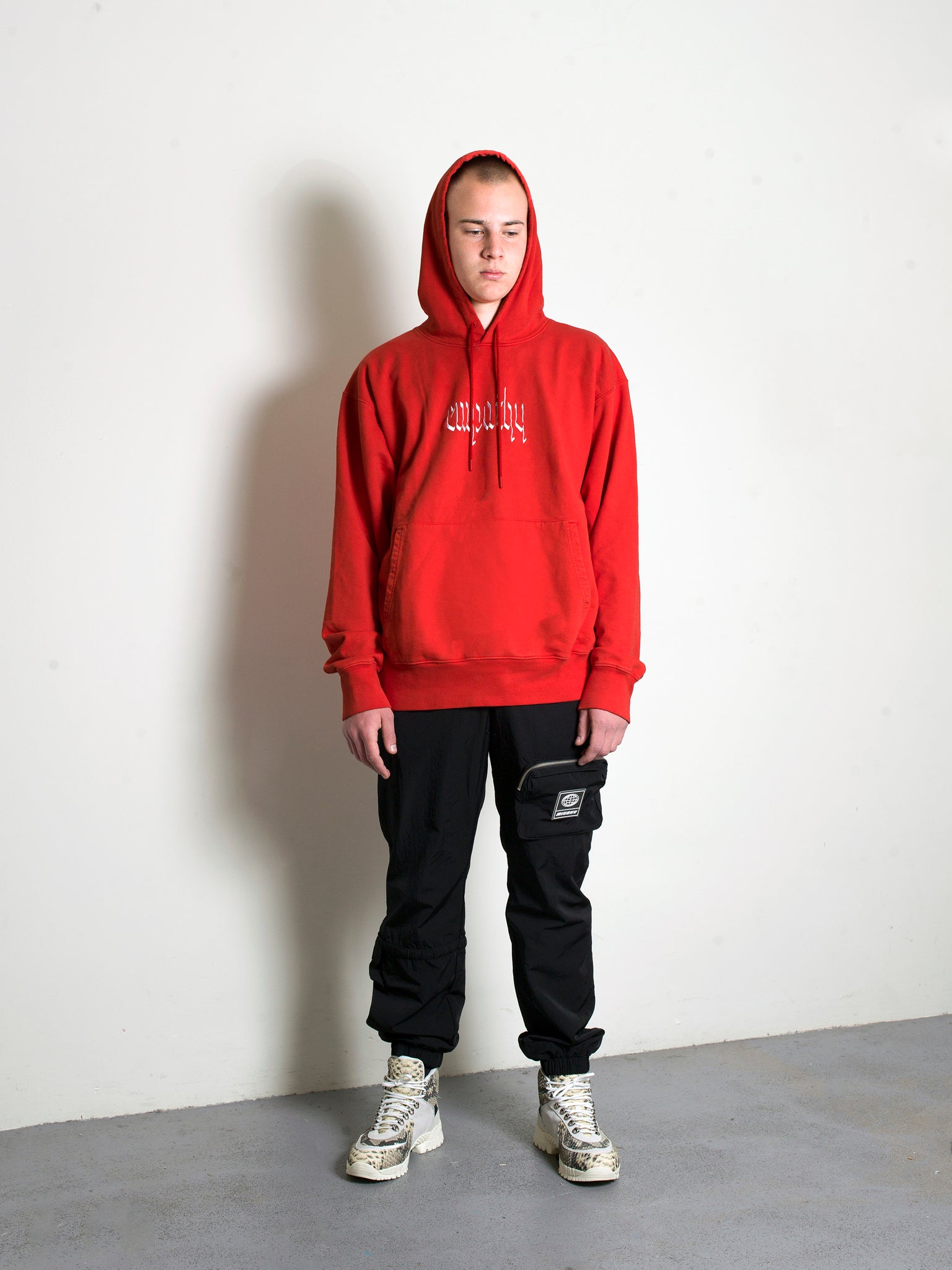Empathy hoodie Red