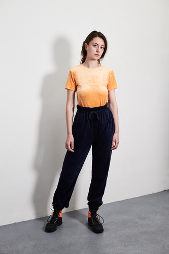 Orange Omo Velours T-shirt