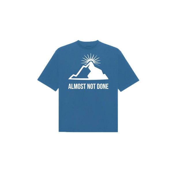 MOUNTAIN T-SHIRT NAVY / WHITE