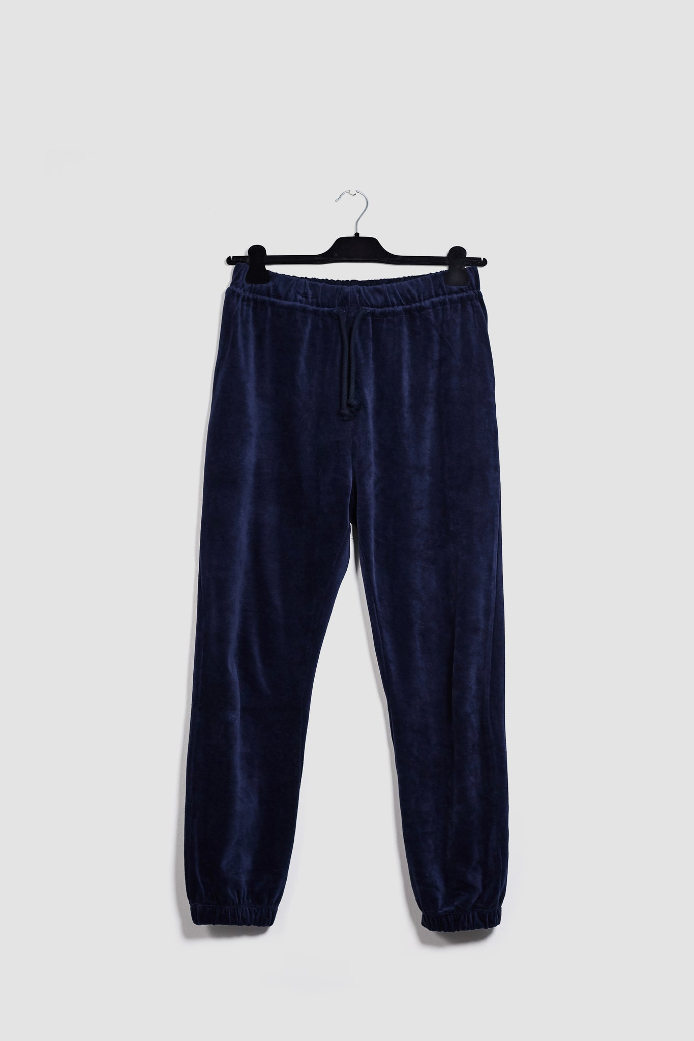 Black AL Velours Pants