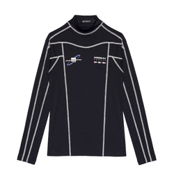 The Sailing Fitted Top Black